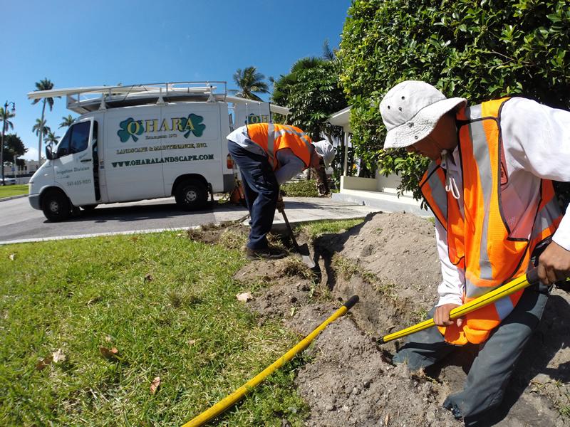 Palm Beach Irrigation Repair