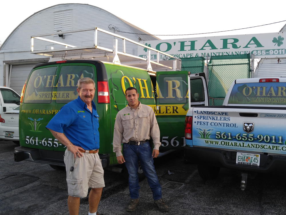 O'Hara Landcape Maintenance Team