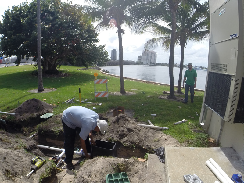 Sprinkler System Repair Service : Sprinkler timers o hara landscape maintenance west palm